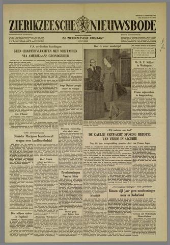Zierikzeesche Nieuwsbode 1962-02-06