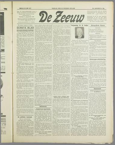 De Zeeuw. Christelijk-historisch nieuwsblad voor Zeeland 1937-06-22