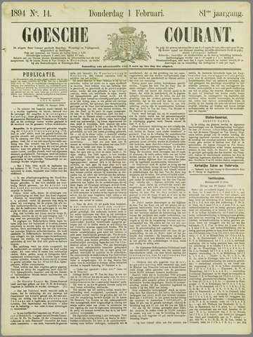 Goessche Courant 1894-02-07