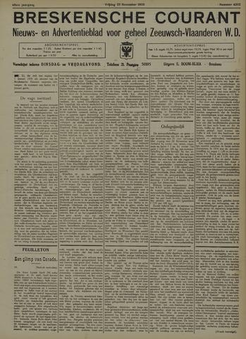 Breskensche Courant 1938-11-25