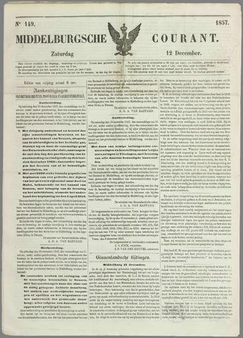 Middelburgsche Courant 1857-12-12