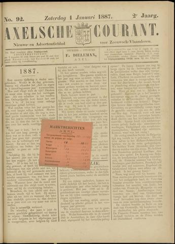 Axelsche Courant 1887-01-01