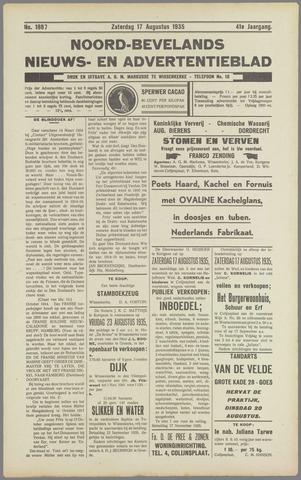 Noord-Bevelands Nieuws- en advertentieblad 1935-08-17