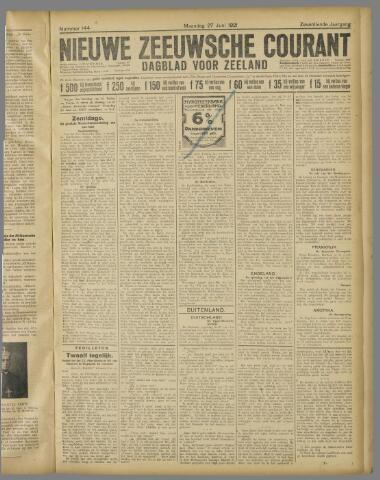 Nieuwe Zeeuwsche Courant 1921-06-27