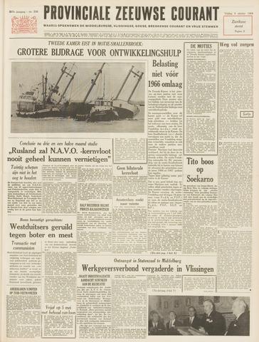 Provinciale Zeeuwse Courant 1964-10-09