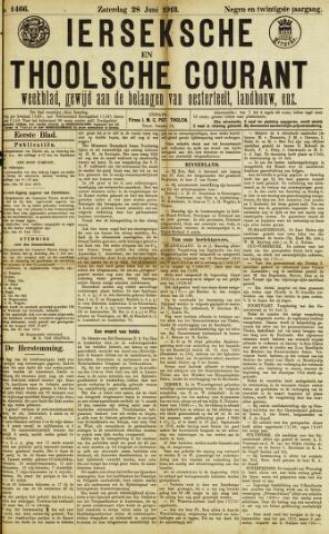 Ierseksche en Thoolsche Courant 1913-06-28