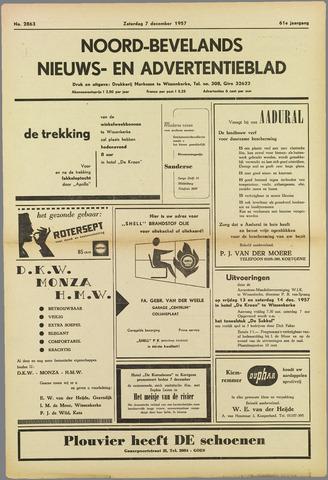Noord-Bevelands Nieuws- en advertentieblad 1957-12-07