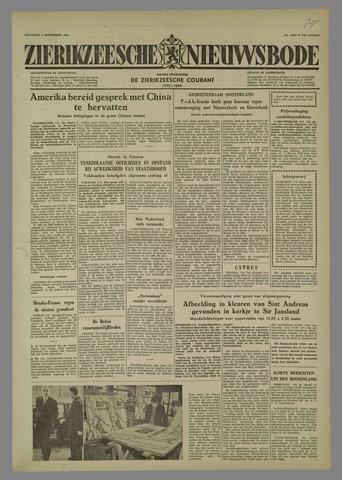 Zierikzeesche Nieuwsbode 1958-09-08