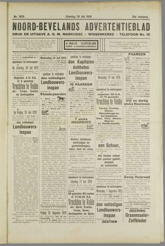 Noord-Bevelands Nieuws- en advertentieblad 1929-07-20
