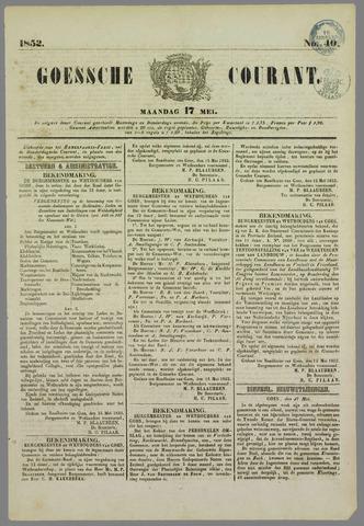 Goessche Courant 1852-05-17