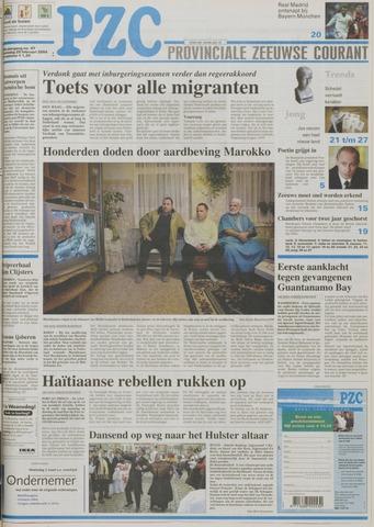 Provinciale Zeeuwse Courant 2004-02-25