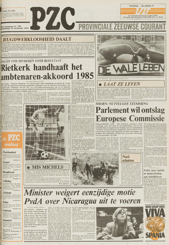 Provinciale Zeeuwse Courant 1984-11-15