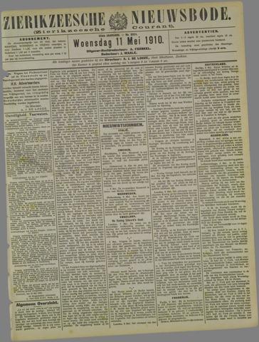 Zierikzeesche Nieuwsbode 1910-05-11