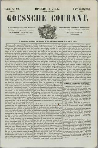 Goessche Courant 1865-07-11