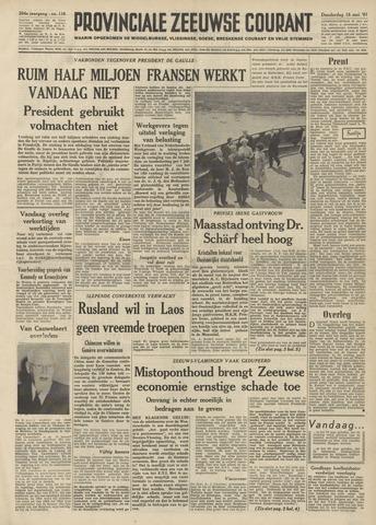 Provinciale Zeeuwse Courant 1961-05-18