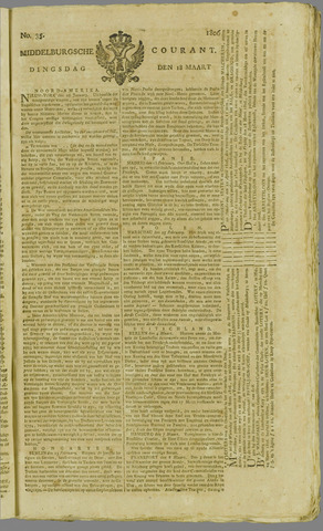 Middelburgsche Courant 1806-03-18