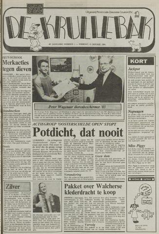 Provinciale Zeeuwse Courant katern Krullenbak (1981-1999) 1984