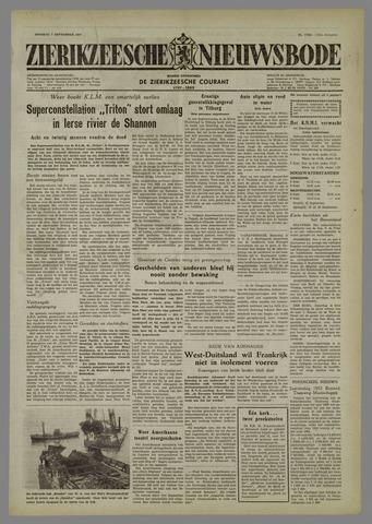 Zierikzeesche Nieuwsbode 1954-09-07