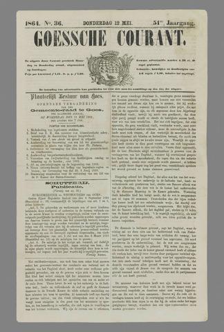 Goessche Courant 1864-05-12