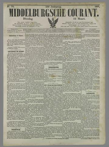 Middelburgsche Courant 1891-03-24