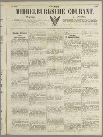 Middelburgsche Courant 1908-10-27