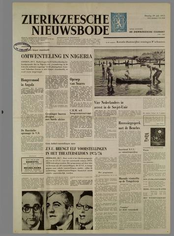 Zierikzeesche Nieuwsbode 1975-07-29