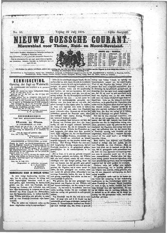 Nieuwe Goessche Courant 1870-07-22