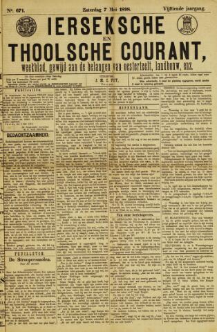 Ierseksche en Thoolsche Courant 1898-05-07