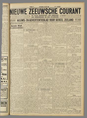 Nieuwe Zeeuwsche Courant 1931-07-25