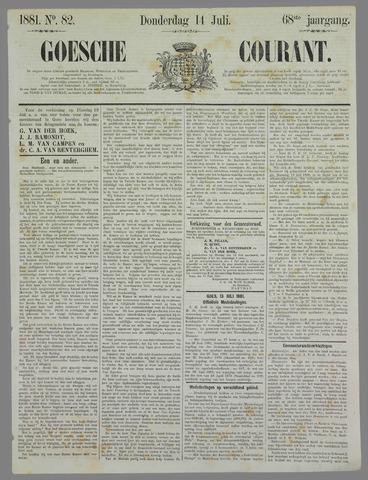 Goessche Courant 1881-07-14
