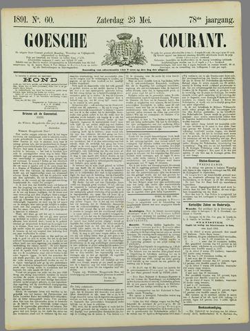Goessche Courant 1891-05-23