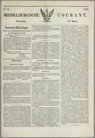 Middelburgsche Courant 1872-03-27