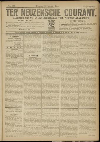 Ter Neuzensche Courant. Algemeen Nieuws- en Advertentieblad voor Zeeuwsch-Vlaanderen / Neuzensche Courant ... (idem) / (Algemeen) nieuws en advertentieblad voor Zeeuwsch-Vlaanderen 1916-01-25