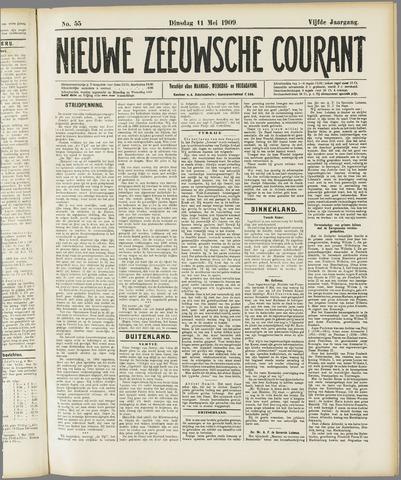 Nieuwe Zeeuwsche Courant 1909-05-11