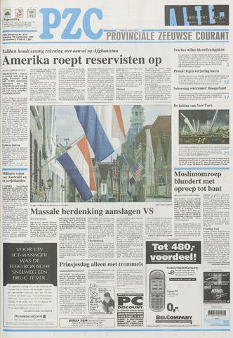 Provinciale Zeeuwse Courant 2001-09-15
