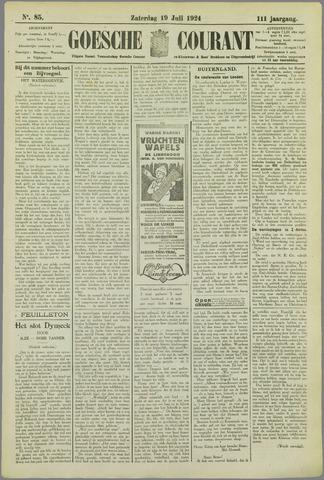 Goessche Courant 1924-07-19