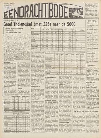 Eendrachtbode (1945-heden)/Mededeelingenblad voor het eiland Tholen (1944/45) 1975
