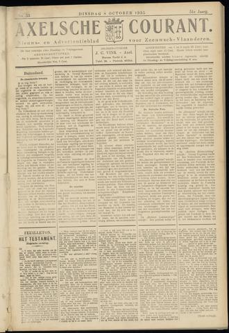 Axelsche Courant 1935-10-08