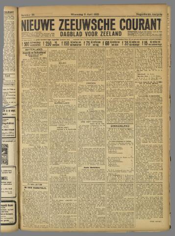 Nieuwe Zeeuwsche Courant 1923-04-11