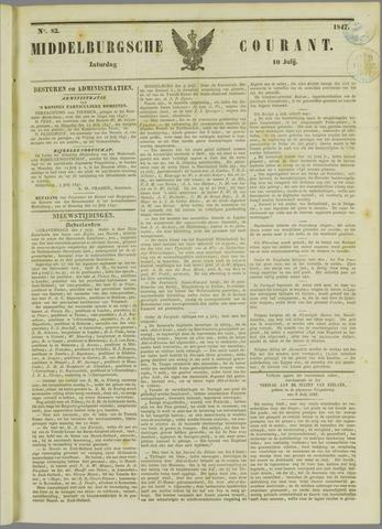 Middelburgsche Courant 1847-07-10