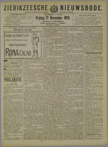 Zierikzeesche Nieuwsbode 1913-11-21