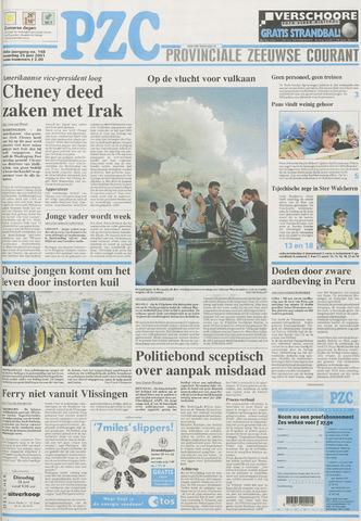 Provinciale Zeeuwse Courant 2001-06-25