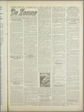 De Zeeuw. Christelijk-historisch nieuwsblad voor Zeeland 1943-03-06