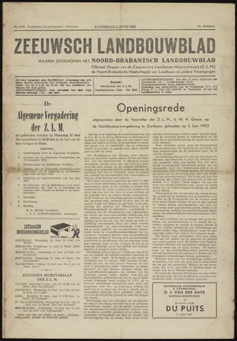 Zeeuwsch landbouwblad ... ZLM land- en tuinbouwblad 1953-06-06
