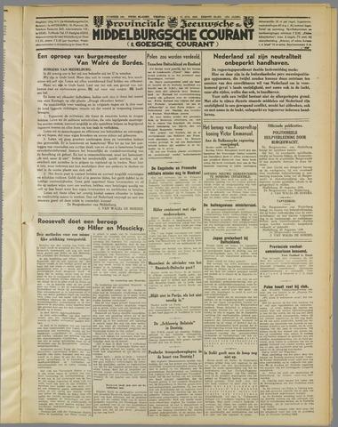Middelburgsche Courant 1939-08-25