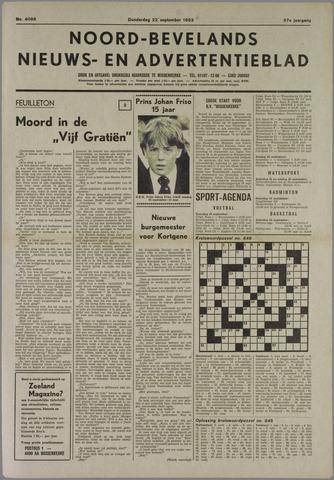 Noord-Bevelands Nieuws- en advertentieblad 1983-09-22
