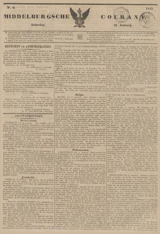 Middelburgsche Courant 1843-01-21