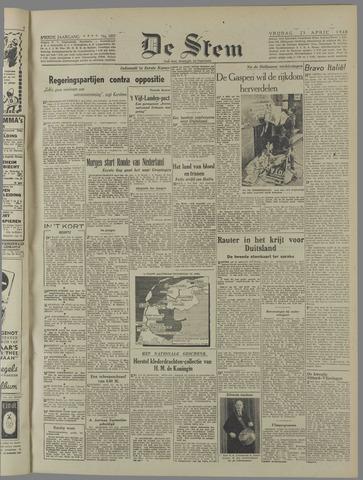 de Stem 1948-04-23