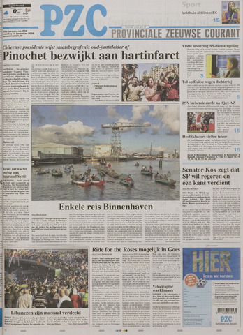 Provinciale Zeeuwse Courant 2006-12-11