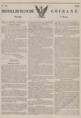 Middelburgsche Courant 1869-03-09